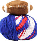 DMC Top This! Team Colors Yarn-Blue & Red