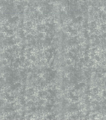 Wide Flannel Fabric -Grey Blender