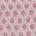 Anti-Pill Fleece Fabric-Lacomb Blush Geometric