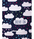No Sew Fleece Throw 48\u0022-Dream On