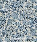 PKL Studio Upholstery Decor Fabric-Katazome Garden Baltic