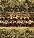 Lightweight Decor Fabric-Regal Fabrics Bear Run Sand