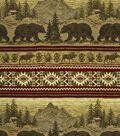 Home Decor 8\u0022x8\u0022 Fabric Swatch-Regals Bear Run Sand