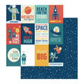 Photoplay Paper To the Moon & Back 25 pk Cardstock-Reach for the Stars