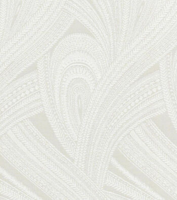 Waverly Upholstery 8x8 Fabric Swatch-Feather Flight/Cloud