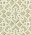 Home Decor 8\u0022x8\u0022 Swatch Fabric-Williamsburg Francis Fret Sand