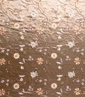 Home Decor 8\u0022x8\u0022 Fabric Swatch-Print Fabric Eaton Square Grandstand Taupe