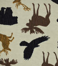 Snuggle Flannel Fabric -Wilderness Animals