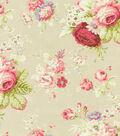 Home Decor 8\u0022x8\u0022 Swatch Fabric-Waverly Sanctuary Rose Linen