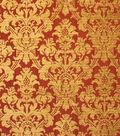 Home Decor 8\u0022x8\u0022 Fabric Swatch-Upholstery Fabric Barrow M7350 5458 Cardinal