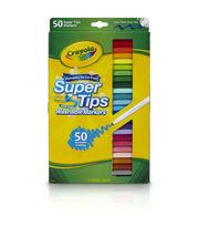 Crayola Super Tips Washable Markers-50/Pkg, , hi-res