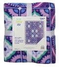 No-Sew Throw Fleece Fabric 48\u0022-Mosaic Periwinkle