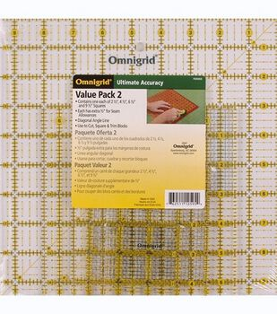 Omnigrid Ruler Value Pack 2-4 Per Package