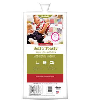 "Soft&Toasty Cotton Batting 110"" x 110"""