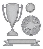 Spellbinders Die D-Lites 4 Pack Etched Dies-Trophy, , hi-res