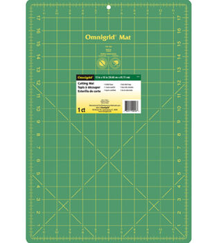 Omnigrid 12''x18'' Cutting Mat with Grid