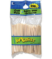 "Woodsies Craft Picks-3-1/2"" 250/Pkg, , hi-res"