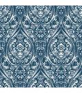 Wallpops Nuwallpaper Peel & Stick Wallpaper-Indigo Bohemian Damask