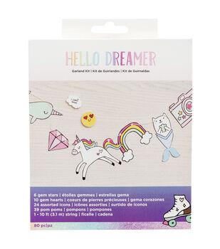 American Crafts Hello Dreamer DIY Garland Kit