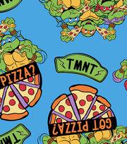 "Teenage Mutant Ninja Turtles Fleece Fabric 59""-Retro Got Pizza, , hi-res"