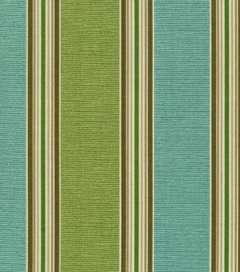 "Home Decor 8""x8"" Fabric Swatch-Solarium Mainland Surf"
