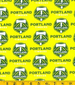 Portland Timbers Cotton Fabric -Logo