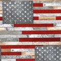 Patriotic Cotton Fabric-Farmhouse