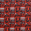 Marvel Spider-Man Cotton Fabric-Power And Responsibility