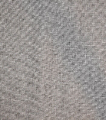 Linen Suiting Fabric 53''-Frost Gray