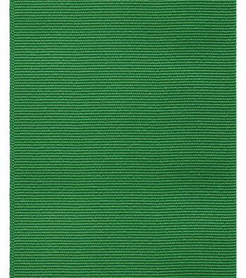 "Offray Ribbon Express 3"" Grosgrain-Emerald Green"