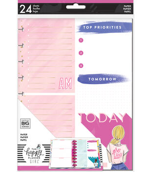 The Happy Planner Girl Classic Paper-Encourager Foil