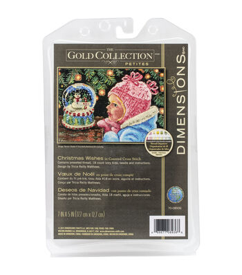 Dimensions Gold Petite Christmas Wishes Counted Cross Stitch Kit