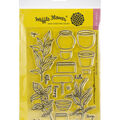 Waffle Flower Crafts Clear Stamp 5\u0022X7\u0022-Spice Garden