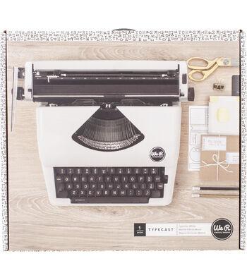 We R Typecast Typewriter-White