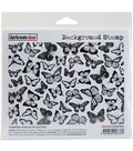 Darkroom Door Background Cling Stamp 4\u0022X6\u0022-Butterflies
