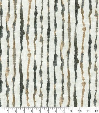 Ellen DeGeneres Upholstery Fabric 54''-Natural Watercolor Stripe