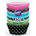 Wilton® Standard Baking Cups-Neon Darks 150/Pkg