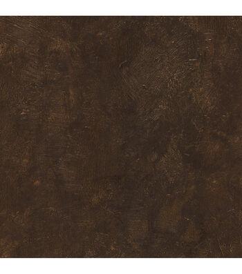 Davio Dark Brown Heavy Plaster Wallpaper