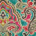 Waverly Upholstery Décor Fabric 9\u0022x9\u0022 Swatch-Artesanias Ikat Caliente