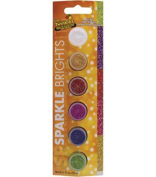 DecoArt Paint Pots-6PK/Sparkle Brights