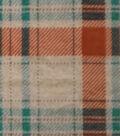 Luxe Fleece Fabric 59\u0022-Heather Plaid