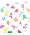 American Crafts Journal Studio 49 pk Mini Puffy Stickers-Adventure