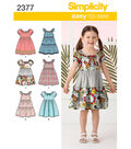 Simplicity Pattern 2377A 3-4-5-6-7--Simplicity Child