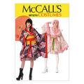 McCall\u0027s Pattern M7270-Kimono Top, Skirt, Obi and Belt