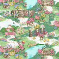 Easter Glitter Cotton Fabric-Spring Fling