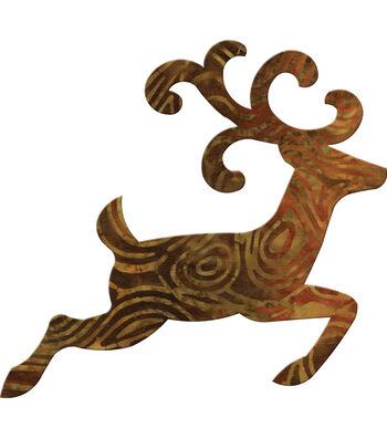 GO! Fabric Cutting Dies-Reindeer