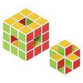 Magicube - 27 Piece Multicolored Free Building Set