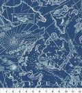 Tommy Bahama Outdoor Fabric 9\u0022x9\u0022 Swatch-South Seas Nautical
