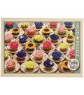Cobble Hill 1000pcs 19.25\u0027\u0027x26.63\u0027\u0027 Jigsaw Puzzle-Cupcakes & Saucers