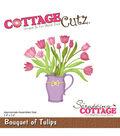 CottageCutz Die-Bouquet Of Tulips 3.4\u0022X3.2\u0022
